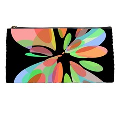 Colorful Abstract Flower Pencil Cases by Valentinaart