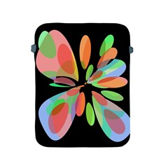 Colorful Abstract Flower Apple Ipad 2/3/4 Protective Soft Cases by Valentinaart