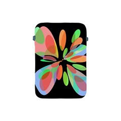 Colorful Abstract Flower Apple Ipad Mini Protective Soft Cases