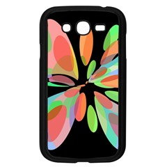 Colorful Abstract Flower Samsung Galaxy Grand Duos I9082 Case (black) by Valentinaart