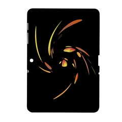 Orange Twist Samsung Galaxy Tab 2 (10 1 ) P5100 Hardshell Case  by Valentinaart