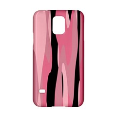 Black And Pink Camo Abstract Samsung Galaxy S5 Hardshell Case  by TRENDYcouture