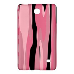 Black And Pink Camo Abstract Samsung Galaxy Tab 4 (8 ) Hardshell Case  by TRENDYcouture