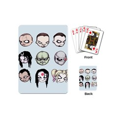 Worst Heroes Ever Playing Cards (mini)  by lvbart