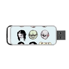 Worst Heroes Ever Portable Usb Flash (one Side) by lvbart