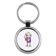Suicide Harley Key Chains (round)  by lvbart