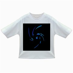 Blue Twist Infant/toddler T Shirts by Valentinaart