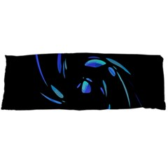 Blue Twist Body Pillow Case Dakimakura (two Sides) by Valentinaart