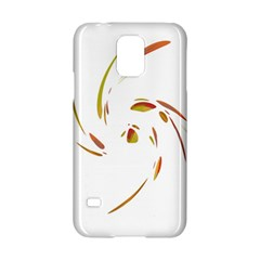Orange Twist Samsung Galaxy S5 Hardshell Case  by Valentinaart
