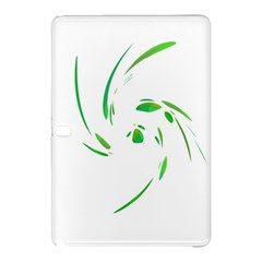 Green Twist Samsung Galaxy Tab Pro 10 1 Hardshell Case by Valentinaart
