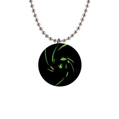 Green Twist Button Necklaces by Valentinaart