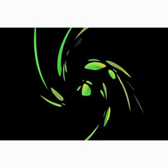 Green Twist Canvas 24  X 36