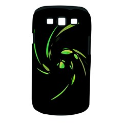 Green Twist Samsung Galaxy S Iii Classic Hardshell Case (pc+silicone) by Valentinaart