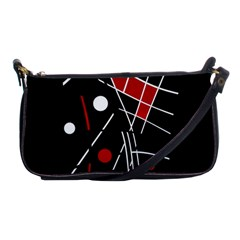 Artistic Abstraction Shoulder Clutch Bags by Valentinaart