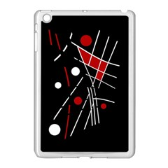 Artistic Abstraction Apple Ipad Mini Case (white) by Valentinaart