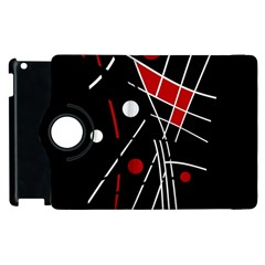 Artistic Abstraction Apple Ipad 3/4 Flip 360 Case by Valentinaart