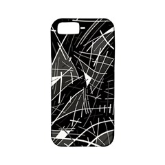 Gray Abstraction Apple Iphone 5 Classic Hardshell Case (pc+silicone) by Valentinaart