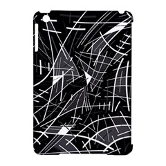 Gray Abstraction Apple Ipad Mini Hardshell Case (compatible With Smart Cover) by Valentinaart