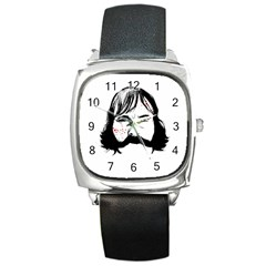 Bill The Butcher Square Metal Watch by lvbart