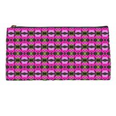 Pretty Pink Flower Pattern Pencil Cases by BrightVibesDesign