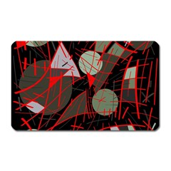 Artistic Abstraction Magnet (rectangular) by Valentinaart