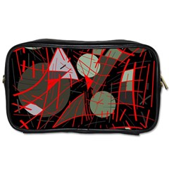 Artistic Abstraction Toiletries Bags by Valentinaart