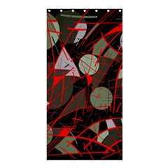 Artistic Abstraction Shower Curtain 36  X 72  (stall)  by Valentinaart