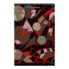 Artistic Abstraction Shower Curtain 48  X 72  (small)  by Valentinaart