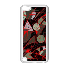 Artistic Abstraction Apple Ipod Touch 5 Case (white) by Valentinaart