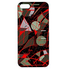 Artistic Abstraction Apple Iphone 5 Hardshell Case With Stand by Valentinaart