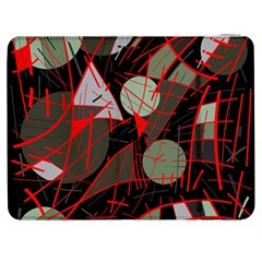 Artistic Abstraction Samsung Galaxy Tab 7  P1000 Flip Case by Valentinaart