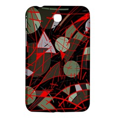 Artistic Abstraction Samsung Galaxy Tab 3 (7 ) P3200 Hardshell Case  by Valentinaart