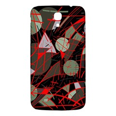 Artistic Abstraction Samsung Galaxy Mega I9200 Hardshell Back Case by Valentinaart