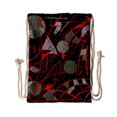 Artistic Abstraction Drawstring Bag (small) by Valentinaart