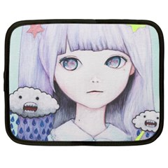 My Little Cloud Netbook Case (xl)  by kaoruhasegawa
