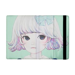 Spring Mint! Apple Ipad Mini Flip Case by kaoruhasegawa