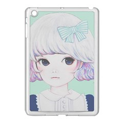 Spring Mint! Apple Ipad Mini Case (white) by kaoruhasegawa