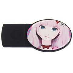 Sweet Tuesday Usb Flash Drive Oval (2 Gb)  by kaoruhasegawa