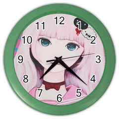 Sweet Tuesday Color Wall Clocks by kaoruhasegawa