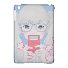 Gamegirl Girl Play With Star Apple Ipad Mini Hardshell Case (compatible With Smart Cover) by kaoruhasegawa