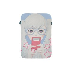 Gamegirl Girl Play With Star Apple Ipad Mini Protective Soft Cases by kaoruhasegawa