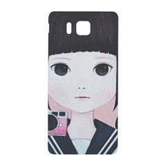 Smile Camare Samsung Galaxy Alpha Hardshell Back Case by kaoruhasegawa