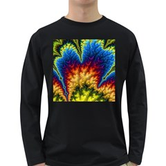 Amazing Special Fractal 25a Long Sleeve Dark T Shirts