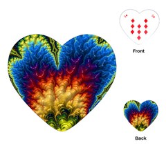 Amazing Special Fractal 25a Playing Cards (heart)  by Fractalworld