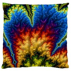 Amazing Special Fractal 25a Large Cushion Case (one Side) by Fractalworld