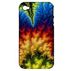 Amazing Special Fractal 25a Apple Iphone 4/4s Hardshell Case (pc+silicone) by Fractalworld