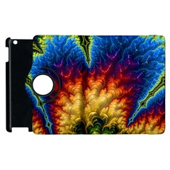 Amazing Special Fractal 25a Apple Ipad 3/4 Flip 360 Case by Fractalworld