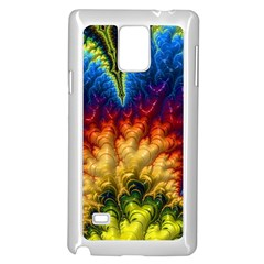 Amazing Special Fractal 25a Samsung Galaxy Note 4 Case (white) by Fractalworld