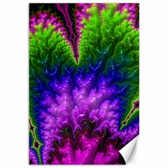 Amazing Special Fractal 25c Canvas 12  X 18   by Fractalworld