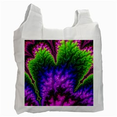 Amazing Special Fractal 25c Recycle Bag (one Side) by Fractalworld